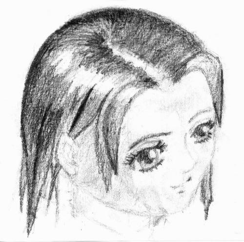 Рисунки карандашом девушки поэтапно